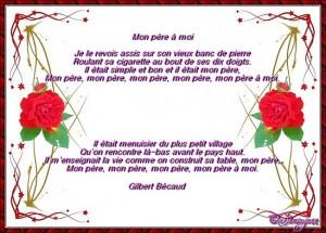 Bonne Fête aux PAPAS du monde !!! dans nos saints fete-des-peres-chanson-cadre-rose6-3-300x215
